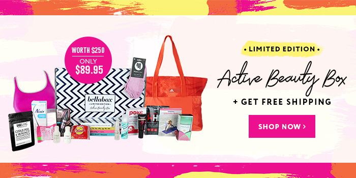 Limited Edition Active Beauty Box