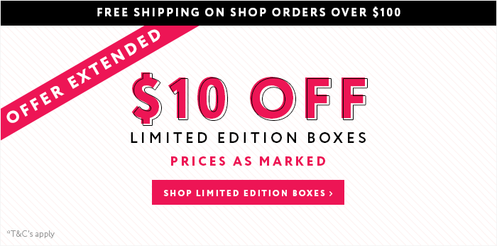 Limited edition box sale