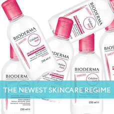 The newest skincare regime micellar water