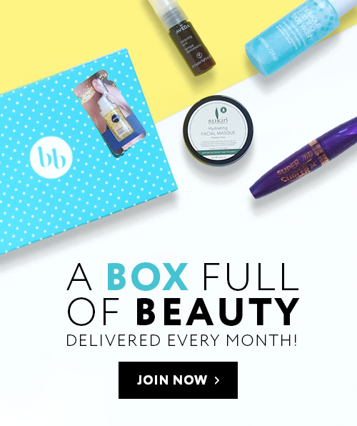 A BOX FULL OF BEAUTY   DELIVERED EVERY MONTH!