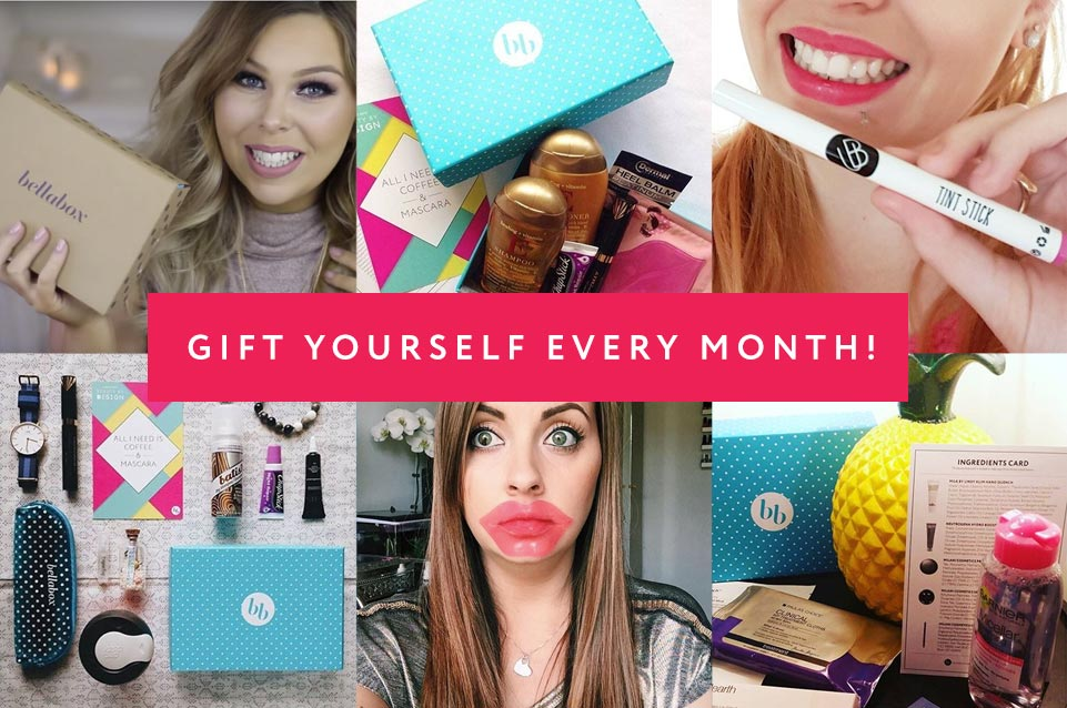 Get your beauty box subscription today