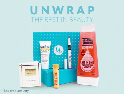 Subscribe to a monthly beauty box