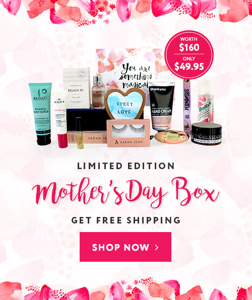 Limited edition skincare for tweens box