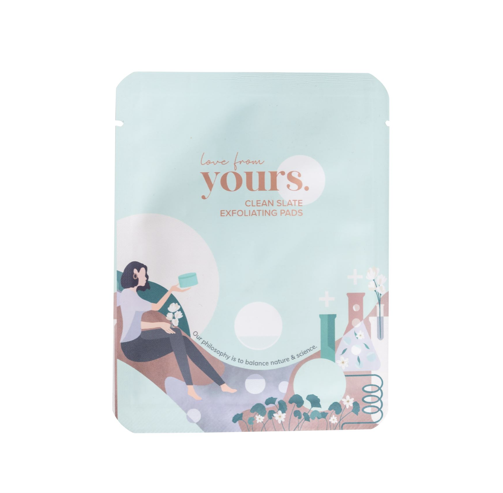 Yours Clean Slate Exfoliating Pads