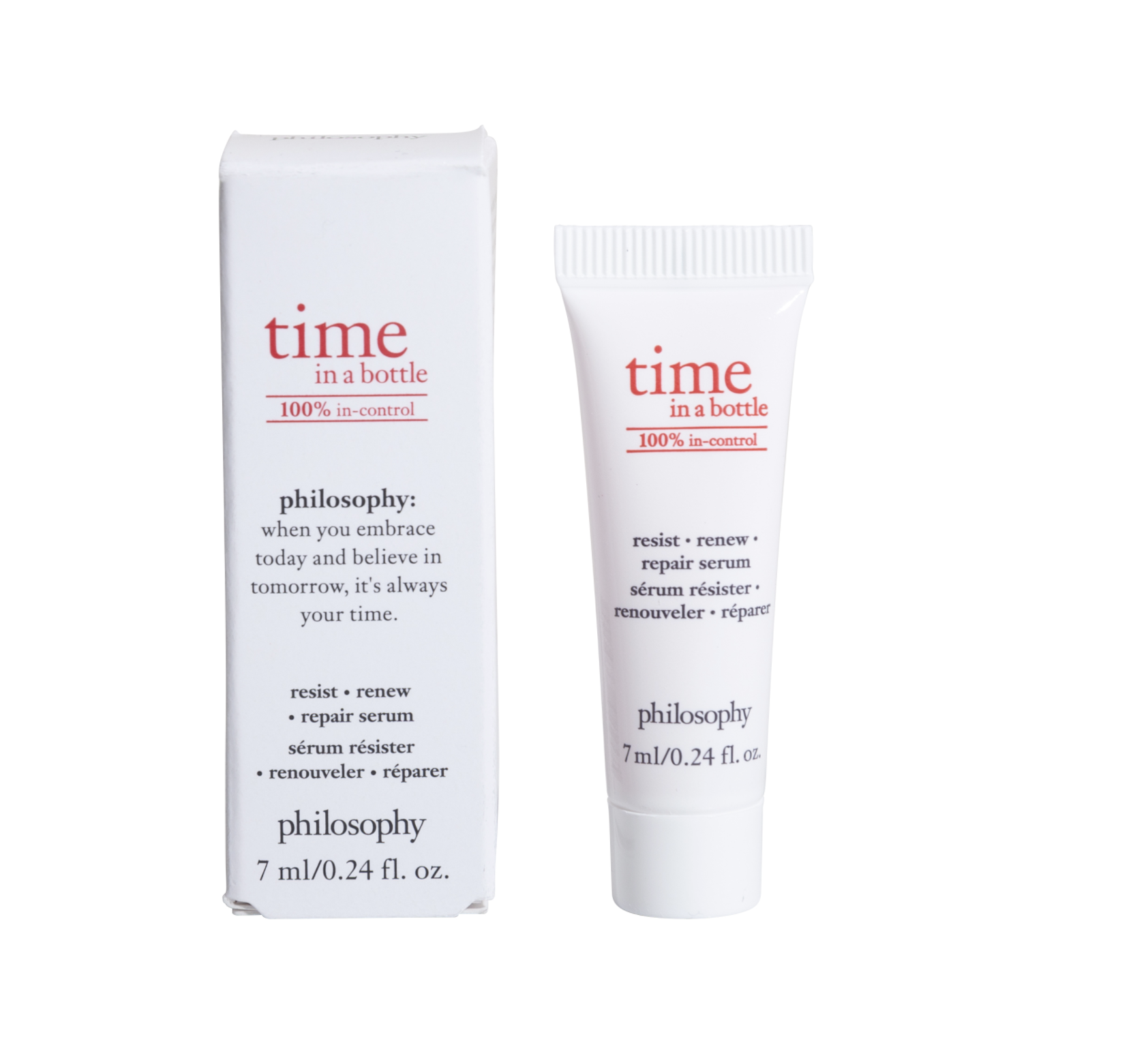 time in a bottle 100% in control serum